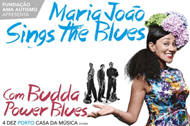 Maria João Sings the Blues com Budda Power Blues